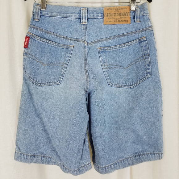 denim shorts 80s